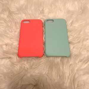 Brand NEW! 2 Piece Soft Silicone iPhone 7/8 Case